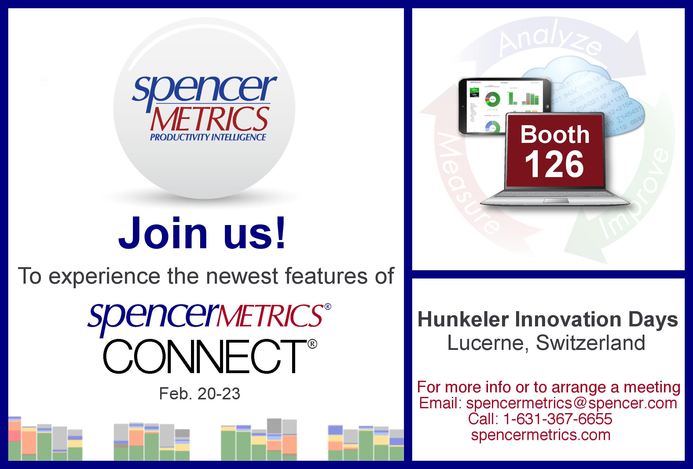SpencerMetrics Hunkeler Invite