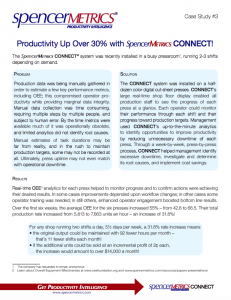 SpencerMetrics productivity case study
