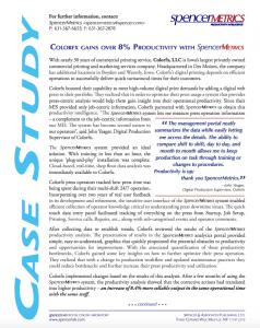 SpencerMetrics ColorFX case study