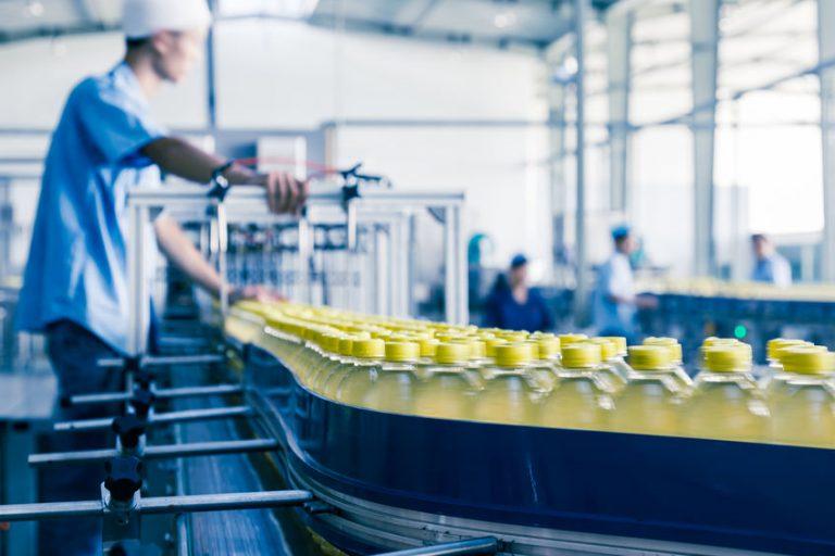 drink labels printing line